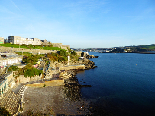 Home exchange in,United Kingdom,Plymouth,Favourite view for a coffee stop.