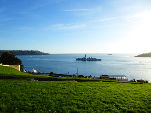 Home exchange in,United Kingdom,Plymouth,You can often watch Navy ships coming and going