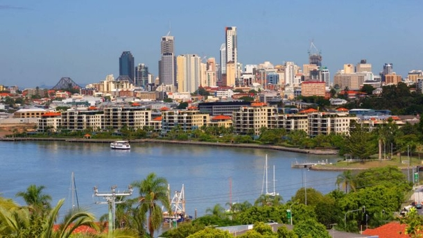 Home exchange in,Australia,Brisbane,View of apartment complex