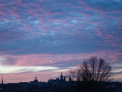 BoligBytte til,France,Angouleme, km, 0,sunset from the kitchen