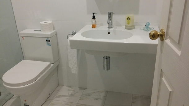 Home exchange in,Australia,Cronulla,Downstairs bathroom also with shower.