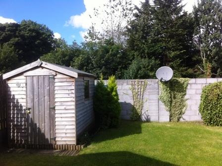 Private back garden.