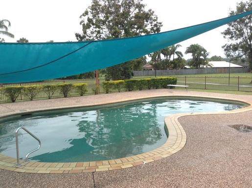Home exchange in,Australia,Cornubia,Swimming pool and children's park in the Estate