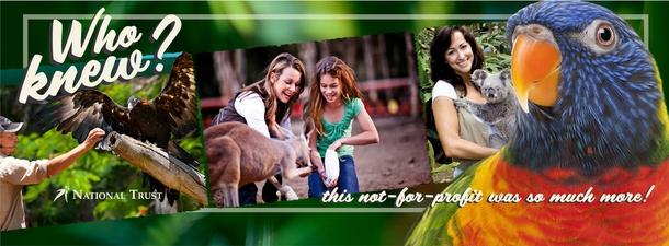 Home exchange in,Australia,Cornubia,Currumbin Wildlife Sanctuary on the Gold Coast.