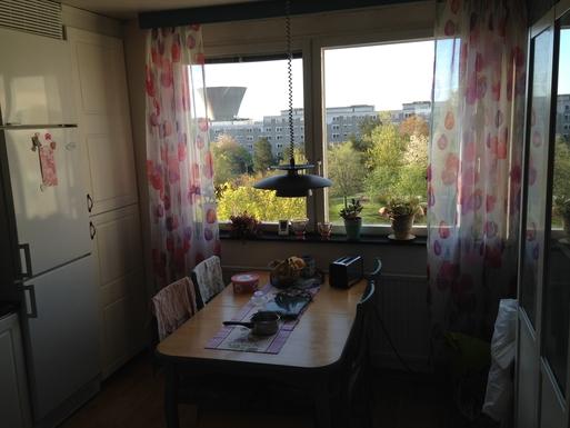 BoligBytte til,Sweden,Nacka,Kitchen with over a park