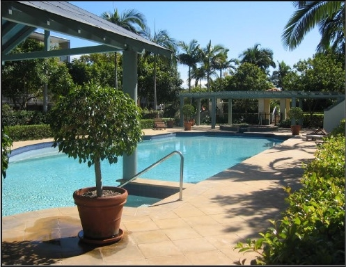 Home exchange in,Australia,Brisbane,One of our three swimming pools