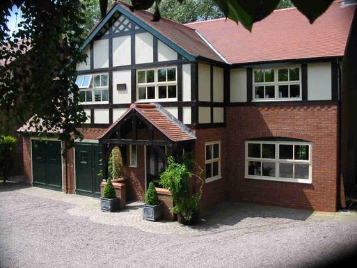 Koduvahetuse riik Suurbritannia,Nantwich, Cheshire,Village House in Cheshire, England.,Koduvahetuse kuulutuse pilt