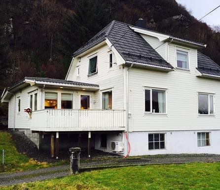 País de intercambio de casas Noruega,DEKNEPOLLEN, Måløy, Nordfjord,Westcoast of Norway, beaches and mountains!,Imagen de la casa de intercambio