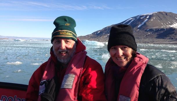 Home exchange in,Australia,BELLARA,Chris & Janet - Svalbard, Norway 2015