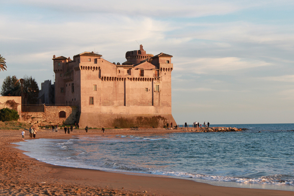 SANTA SEVERA: SEA AND CASTLE. YOU'RE WELCOME!