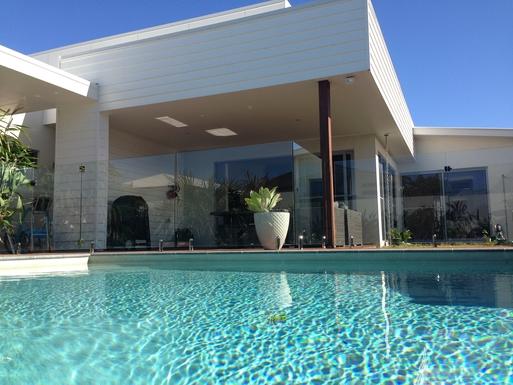 Home exchange in,Australia,MOUNT COOLUM,Sparkling freshwater Enviroswim pool
