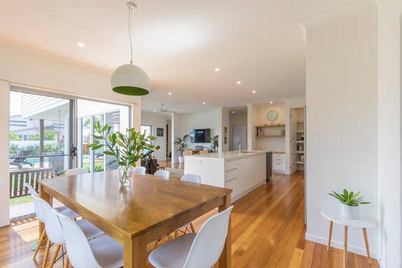 Home exchange in,Australia,MOUNT COOLUM,Open plan kitchen, lounge, dining