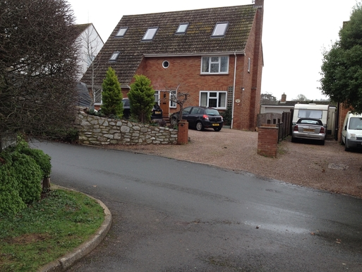 Large house in pretty estaury village