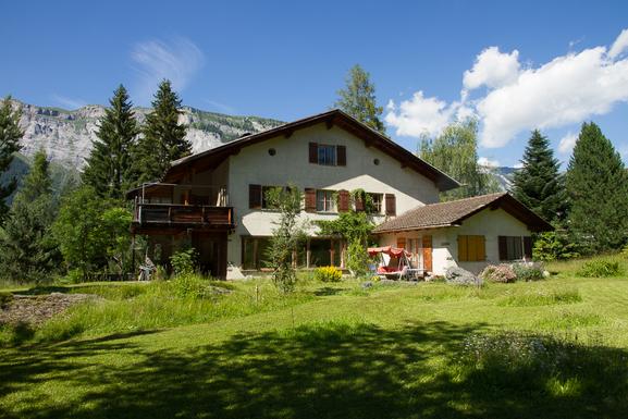 Boligbytte i  Sveits,Flims Waldhaus, Graubünden,House in Grisons, Switzerland with big garden,Home Exchange & House Swap Listing Image