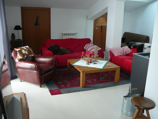 Home exchange in,Andorra,Canillo,Living room