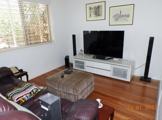 Home exchange in,Australia,Margate,Third bedroom used as TV room.