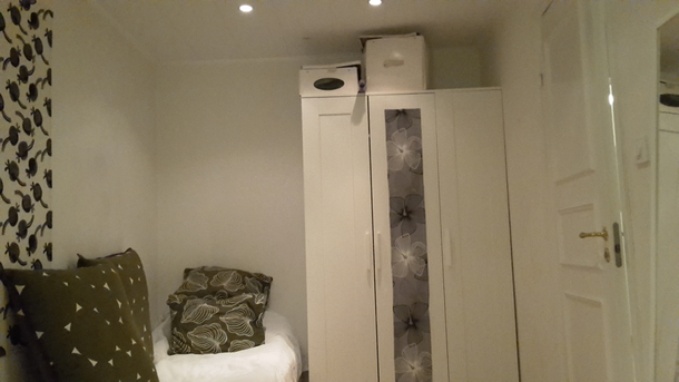 BoligBytte til,Sweden,Stockholm, 7k, S,Work- and bed room