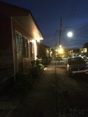 Moonlight night in the Treme!