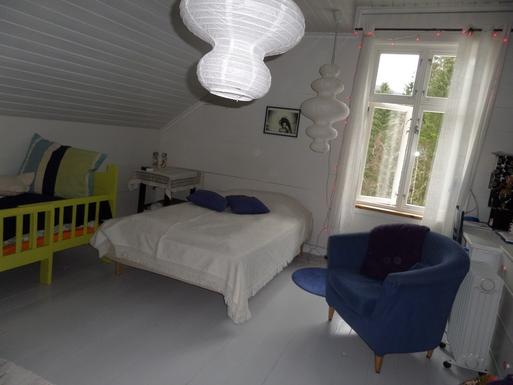 BoligBytte til,Norway,Ulvik,Bedroom upstairs