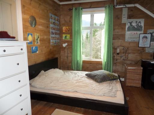 BoligBytte til,Norway,Ulvik,Bedroom oupstairs