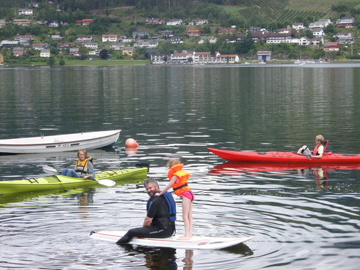 BoligBytte til,Norway,Ulvik,Our guests enjoy sea life.  Here are our kajak