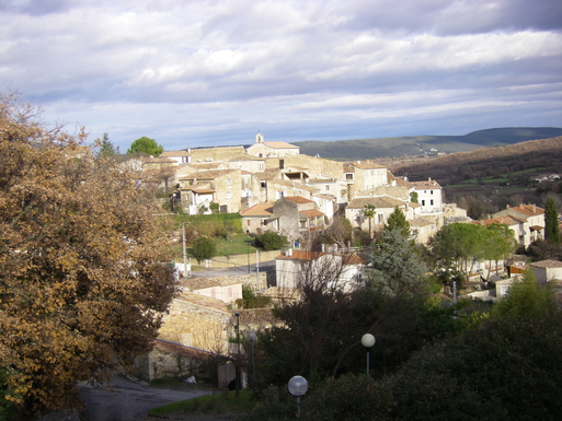 The  village of Martignargues