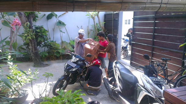 Home exchange in,Indonesia,Legian,Everything will be delivered by Motorbike