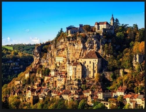 BoligBytte til,France,Rocamadour,Rocamadour, a UNESCO site