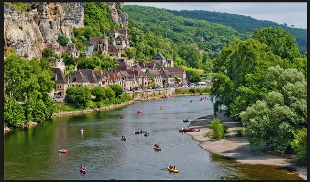 BoligBytte til,France,Rocamadour,The troglodyte town of La Roque-Gageac