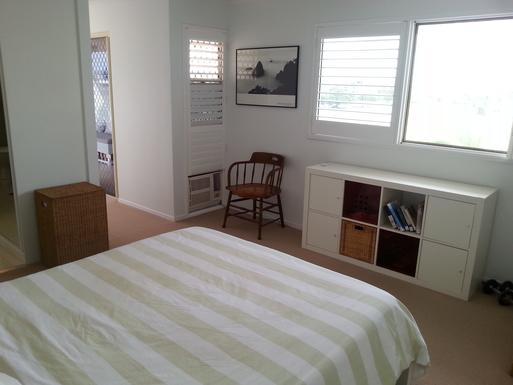 Home exchange in,Australia,MAROOCHYDORE,Main bedroom