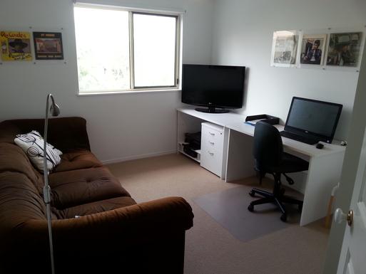 Home exchange in,Australia,MAROOCHYDORE,Study - tv - computer room