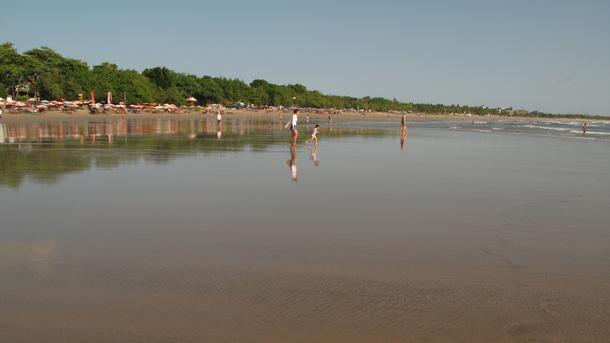 Home exchange in,Indonesia,Legian,Legian Beach to Kuta Beach.