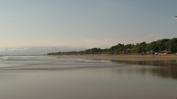 Home exchange in,Indonesia,Legian,Legian Beach to Seminyak Beach.