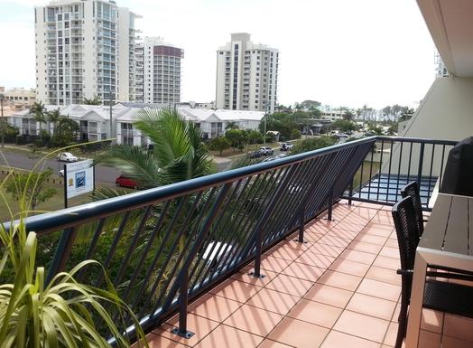 Home exchange in,Australia,MAROOCHYDORE,Upper balcony