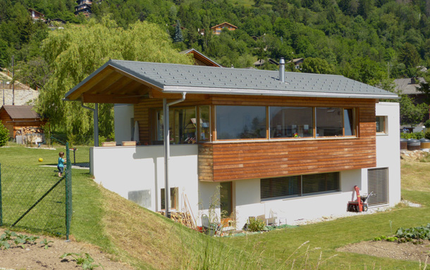 Home exchange in Switzerland,Randogne, Valais,Maison au coeur des Alpes valaisannes - Crans,Home Exchange & Home Swap Listing Image