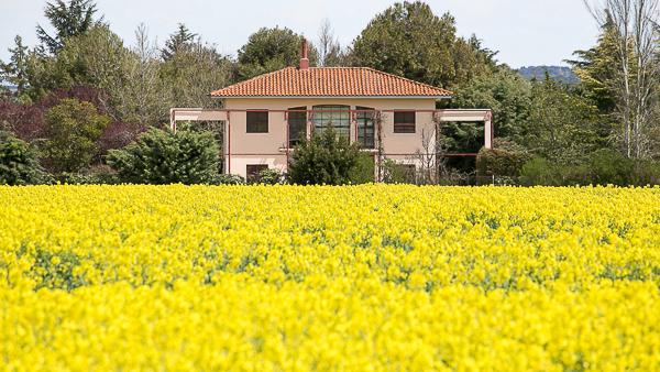 BoligBytte til,Spain,Galindo y Perahuy,Vista exterior desde los campos de cultivo.