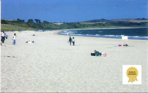 Curracloe Beach - 7kms  - white sand
