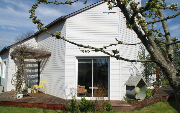 Home exchange in France,La Meignanne, Pays de la Loire,wooden house,Home Exchange & Home Swap Listing Image