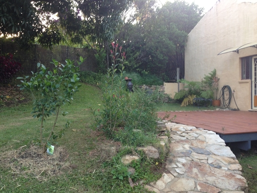 Home exchange in,Australia,COFFS HARBOUR,rear deck and fire pot