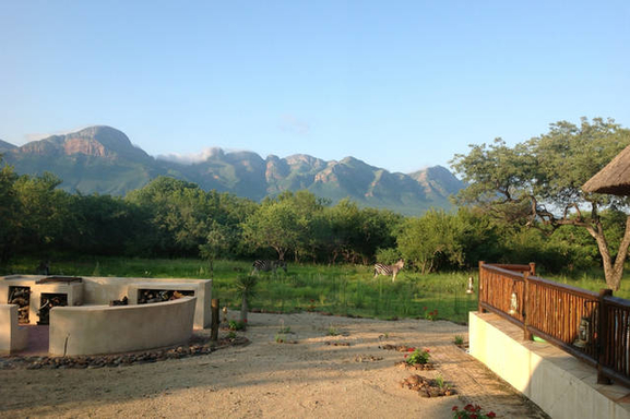 BoligBytte til,South Africa,Hoedspruit,View from the terrace
