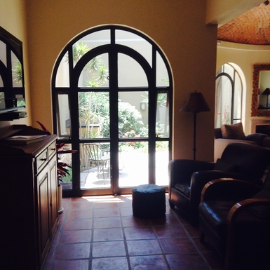 BoligBytte til,Mexico,San Miguel de Allende,TV Room to Garden, BBQ, & Bistro Table