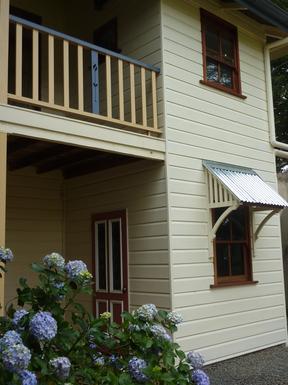 Home exchange in,Australia,Tamborine Mountain,Back door