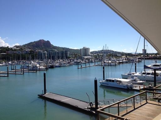 Home exchange in,Australia,Townsville,View from main bedroom balcony.