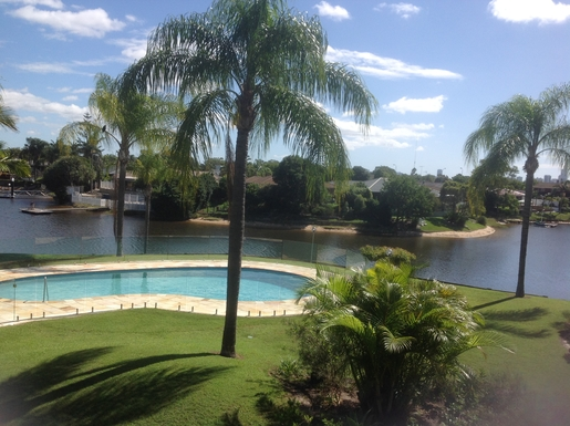 Home exchange in,Australia,Mermaid Waters,View from front patio