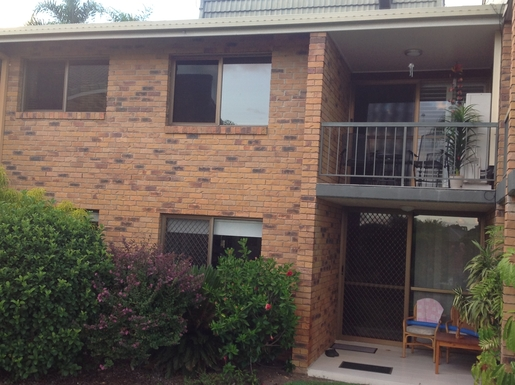 Home exchange in,Australia,Mermaid Waters,Front view of Apartment - upper floor