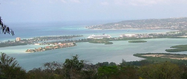 View from Monzon overlooking Montego Bay