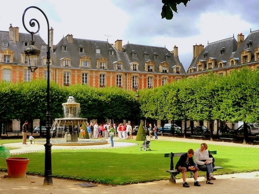 THE PLACE DES VOSGES ONLY 10 MIN WALKING