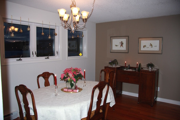 Home exchange in,Canada,Whitehorse,Dining Room