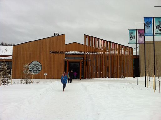 Home exchange in,Canada,Whitehorse,First Nations Cultural Centre