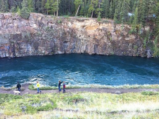 Home exchange in,Canada,Whitehorse,Miles Canyon (Yukon River) - a few Km away